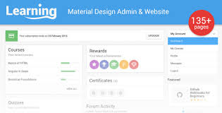 learning app html5 and angularjs template by rsm23 on deviantart