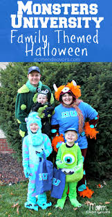 halloween costume for family monsters university family themed halloween costumes u2013 2013 recap