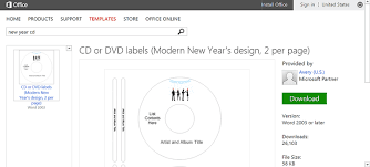free label template for word celebrate the new year with free new year u0027s templates