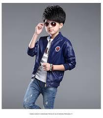 Boys Leather Bomber Jacket Online Get Cheap Big Boys Leather Jackets Aliexpress Com