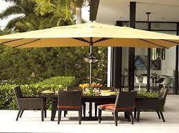 Rectangle Patio Umbrella Rectangular Patio Umbrella Ideas That Will Add Elegance To Your