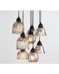 Pottery Barn Ceiling Light Amazing Savings On Kenzie Mercury Chandelier At Pottery