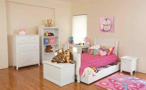 Girls White Bedroom Suite Delectable Decorating Ideas Using Rectangular White Wooden Desks
