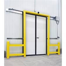 porte chambre froide coulissante asi doors porte à séparation pour chambre froide porte
