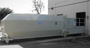used trash compactor baletech com stationary compactors