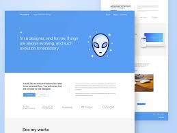 personal portfolio template sketch freebie download free