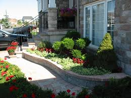 garden design with front yard landscape terrascapes above ground
