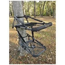 ol the drone with hex drive climber tree stand black