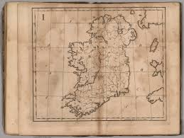 i untitled outline map of ireland david rumsey historical map