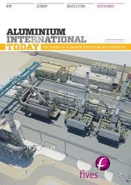 aluminium international today july august 2016 by quartz issuu