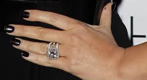 Kim Kardashian Wedding Ring by The Five Most Expensive Celebrity Engagement Rings North