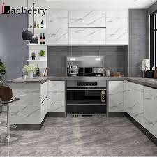 what glue to use on kitchen cabinets modern marble self adhesive wallpaper kitchen cabinet door desktop furniture refurbished stickers vinyl waterproof contact paper