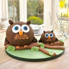 owl cake owlcake cake recipes lakeland