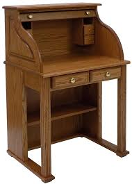 Oak Laptop Desk 29 W Solid Oak Roll Top Vintage Laptop Desk