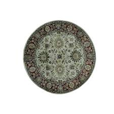 Round Rug 6 by 1800getarug Oriental Carpets And Persian Rugs In The Usa