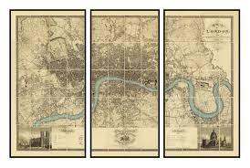 Norfolk County Wall Map Framed Large Framed Maps