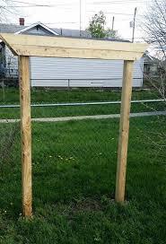 building a planter box with a trellis hometalk