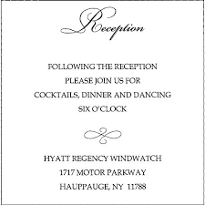 wedding invitations wording sles wedding invitation reception card wording sles style by