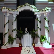 wedding arches and columns column for event rentals hton roads event rentals