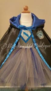 blue wizard cloak tutu dress set by haydee s boutique on zibbet