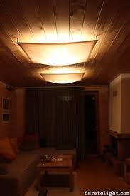 Ceiling Fluorescent Lights How To Hide Fluorescent Lights Search Event Ideas