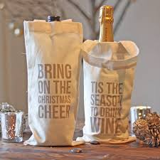 wine bottle gift bags christmas wine bottle gift bag by the wedding of my dreams