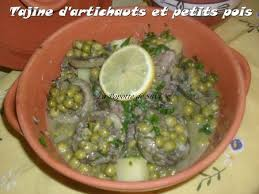cuisine de ratiba tajine d artichauts et petits pois la popotte de silvi