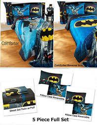 Batman Twin Bedding Set by Batman Comforter Set Twin Dc Comics Style Kids Bedroom With Twin