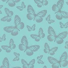 butterfly shimmer wallpaper metallic silver teal ilw980004