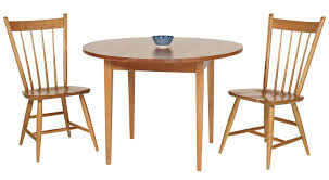 circle furniture round taper leg table dining tables ma