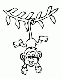 printable coloring pages monkeys monkey coloring pages free for kids 13 coloring pages for kids