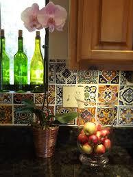 mexican tiles for kitchen backsplash kitchen dusty coyote mexican tile kitchen backsplash diy ideas for
