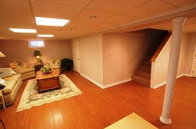 awesome ideas for basement floors with concrete finished basement
