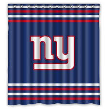 Nfl Curtains Giants Shower Curtains Shower Curtains Outlet