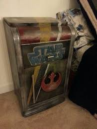 Star Wars Bedroom Furniture a star wars bedroom piece i made from repurposed scratch and dent