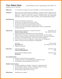 Job Resume Objective Warehouse by Warehouse Resume Objective Examples Free Resume Example And