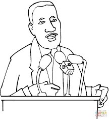 martin luther king online coloring page equality drawing martin