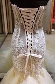 gorgeous mermaid sweetheart wedding dress lace applique 2017