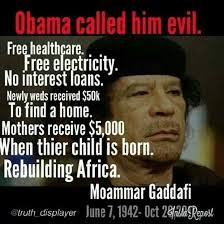 Gaddafi Meme - gaddafi was planning the 1st central bank of africa the african