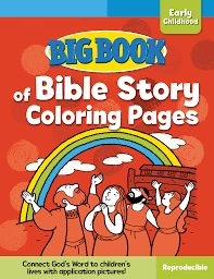 integrity direct big book of bible story colouring pages for