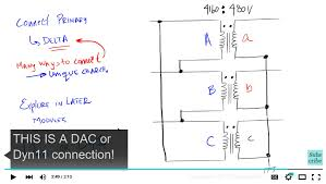 introduction to the delta wye transformer connection
