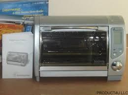 Toastmaster Toaster Tlwtob6 Lightwave Toaster Oven Broiler W Halogen Heating System