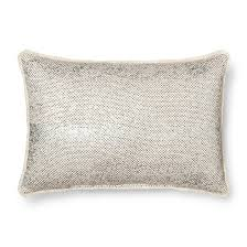 Metallic Cowhide Pillow Metallic Throw Pillows Target