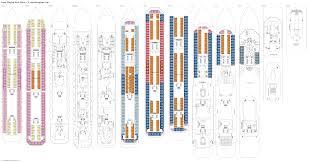carnival triumph floor plan costa magica veronese deck plan tour