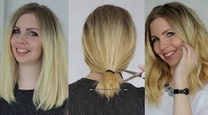 short haircuts to cut yourself long bob selber schneiden do it yourself anleitung für den