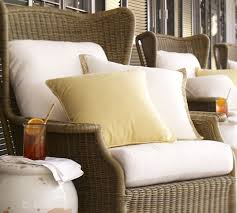 Chaise Lounge Cushion Slipcovers Saybrook Outdoor Furniture Replacement Cushions Pottery Barn