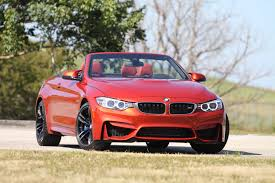 red bmw m4 2015 bmw m4 convertible 1 4 mile 0 60 mph testing dragtimes com