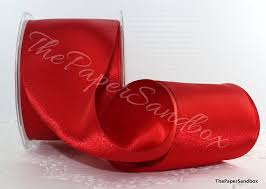 wide satin ribbon wired satin ribbon 3 wide by the yard wide