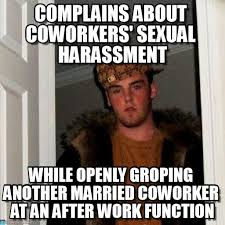 Sexual Harrassment Meme - complains about coworkers sexual harassment on memegen