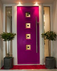 composite doors front dublin exterior pink door ideal home show